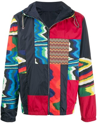 Missoni reversible panelled jacket