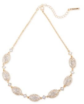 T Tahari Pave Fire Essential Necklace