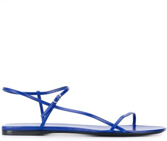 The Row Flach flat strappy sandals