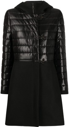Fay Panelled Puffer Coat