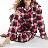 JCPenney Pajamas, adonna® Flannel Plaid Set