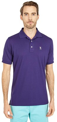 Psycho Bunny Sport Chiltern Polo (Astral) Men's Clothing