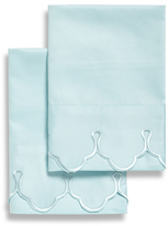 Belle Epoque Scalloped Embroidered Pillowcases (Set of 2)