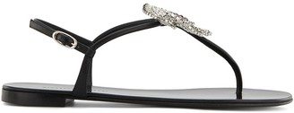 Giuseppe Zanotti Hollie flower sandals