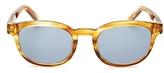 Salvatore Ferragamo Doppio Gancino Rectangle Sunglasses, 50mm