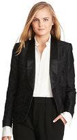 Polo Ralph Lauren Silk Jacquard Tuxedo Jacket