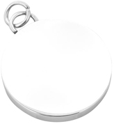 Ox & Bull Trading Co. Men's Stainless Steel Engravable Round Infinity Pendant
