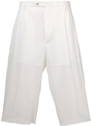Maison Margiela high-waisted shorts