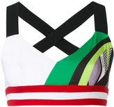 NO KA 'OI No Ka' Oi - Ola sports bra - women - Polyamide/Polyester/Spandex/Elastane - S