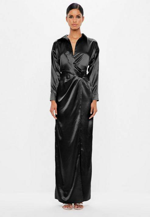 c2a273ced7874 Missguided Wrap Dresses - ShopStyle
