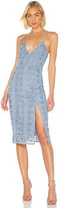 Lovers + Friends Saba Midi Dress