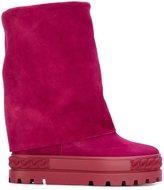 Casadei wide leg boots