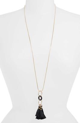 Akola Tassel Pendant Necklace