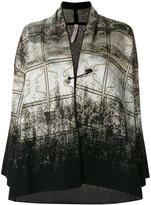 Antonio Marras gradient printed card-coat - women - Polyester/Viscose/Virgin Wool - L