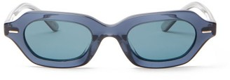 The Row X Oliver Peoples La Cc Sunglasses - Blue