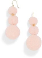 BaubleBar Pom Pom Crispin Ball Drop Earrings