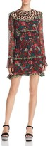 Scotch & Soda Pattern Block Ruffle Dress