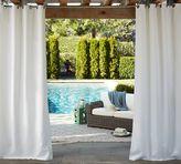 Pottery Barn Sunbrella®; Solid Indoor/Outdoor Grommet Drape