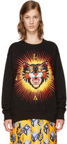 Gucci Black Angry Cat Modern Future Sweatshirt