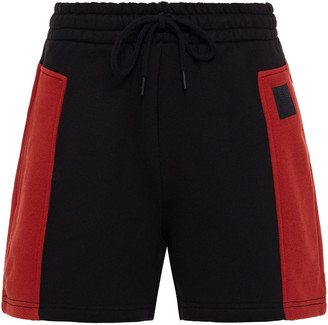 McQ Two-tone French Cotton-terry Shorts