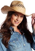 Flora Bella Sandra Raffia Cowboy Hat
