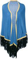 Antonia Zander cashmere fringed shawl - women - Cashmere - One Size