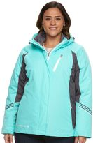 Free Country Plus Size Colorblock 3-in-1 Systems Jacket
