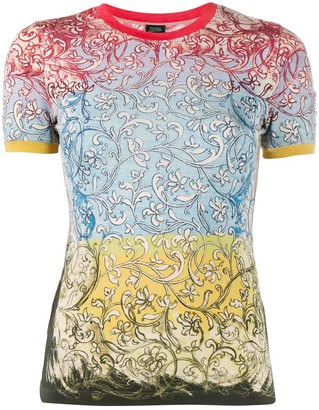 Jean Paul Gaultier Pre-Owned floral print T-shirt
