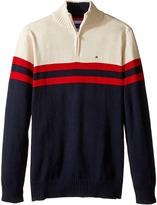 Tommy Hilfiger Connor 1/2 Zip Sweater (Big Kids)
