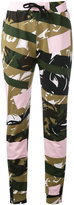 Kenzo camouflage print joggers - women - Cotton - S