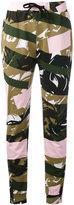 Kenzo camouflage print joggers - women - Cotton - XS