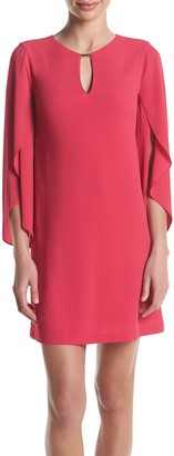 Jessica Simpson Women's Flutter Sleeve Dress with Cut Out Details