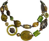 One Kings Lane Vintage 1960s Lucite & Silver Necklace