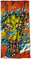 "Dragon Asian Myth Fantasy Evil Beast Beach Towel 28"" x 59""   Wellcoda"