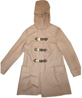 Miu Miu Beige Wool Coat for Women