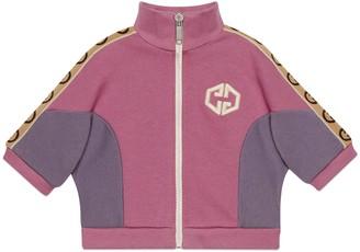 Gucci Baby cotton sweatshirt with Interlocking G