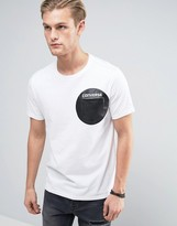 Converse Pocket T-Shirt With Dot Print in White 10003387-A02