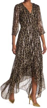 BA&SH Jisy Cheetah Dress