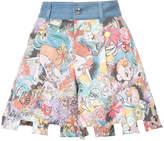 Tsumori Chisato denim waist shorts