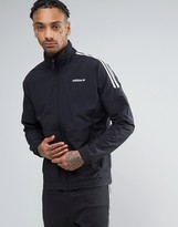 adidas Woven Track Jacket In Black Bk5923