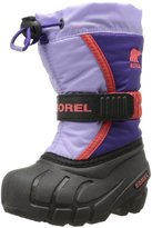 Sorel Flurry TP Boot (Tod/Yth) - Purple/Whitened Violet-7 Toddler