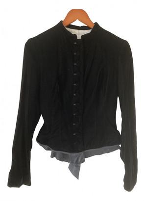 Nicole Farhi Black Velvet Jackets