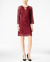 Jessica Simpson Lace Keyhole Shift Dress