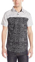Zoo York Men's Kick-Push Short Sleeve Woven
