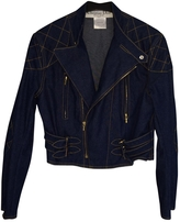 Christian Dior Blue Cotton Jacket