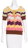Missoni Chevron Knit Top