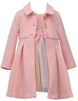 Bonnie Jean Little Kid Girls Sleeveless Dress Set, 4 , Pink