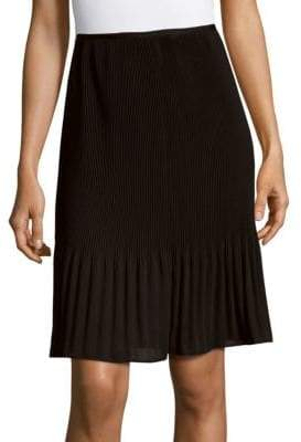 Lafayette 148 New York Benita Solid Pleated Skirt