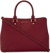 MICHAEL Michael Kors Savannah large leather satchel