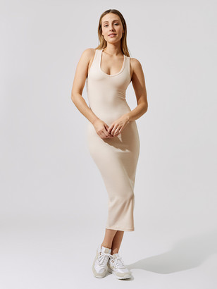 Carbon38 Ribbed Racerback Dress